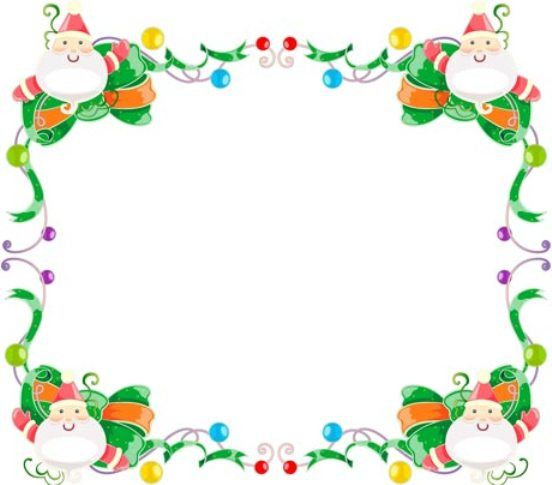 Free christmas frames and borders clipart png freeuse stock Free christmas borders clip art page borders and vector image #10883 ... png freeuse stock