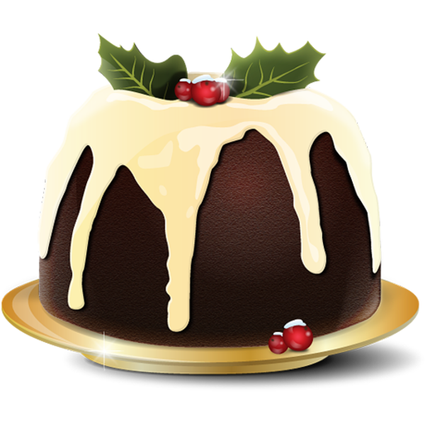Christmas dessert clipart banner download Christmas Pudding 1 | Free Images at Clker.com - vector clip art ... banner download
