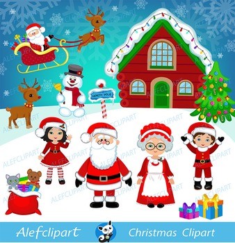 Christmas digital clipart