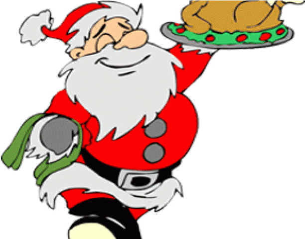 Christmas dinner images clipart graphic black and white Feast Clipart Turkey Dinner - Christmas Lunch - Png Download - Full ... graphic black and white