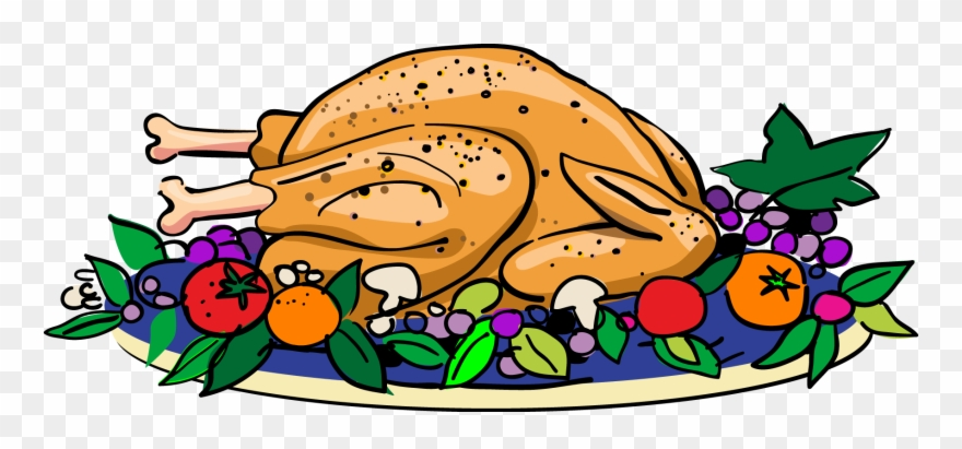 Thanksgiving dinner dance clipart royalty free Christmas - Thanksgiving Turkey Dinner Clipart - Png Download (#6789 ... royalty free