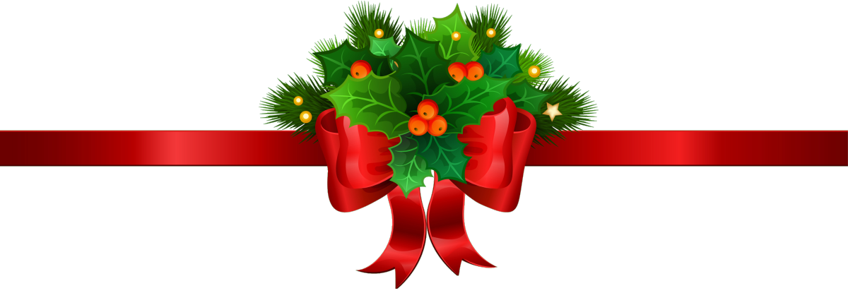 Christmas divider clipart