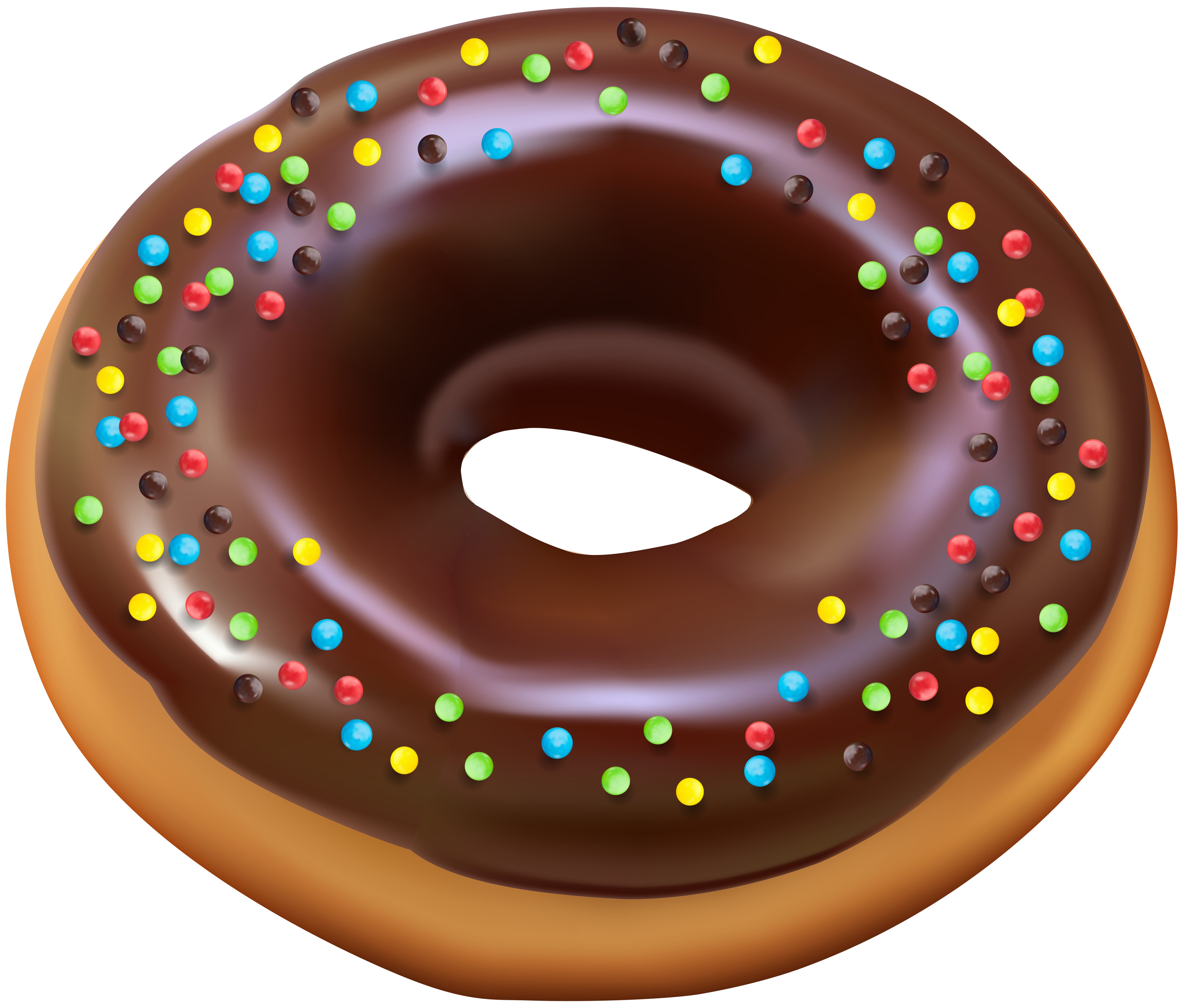 Christmas donut clipart clip freeuse stock Donut PNG Clip Art Image | Gallery Yopriceville - High-Quality ... clip freeuse stock