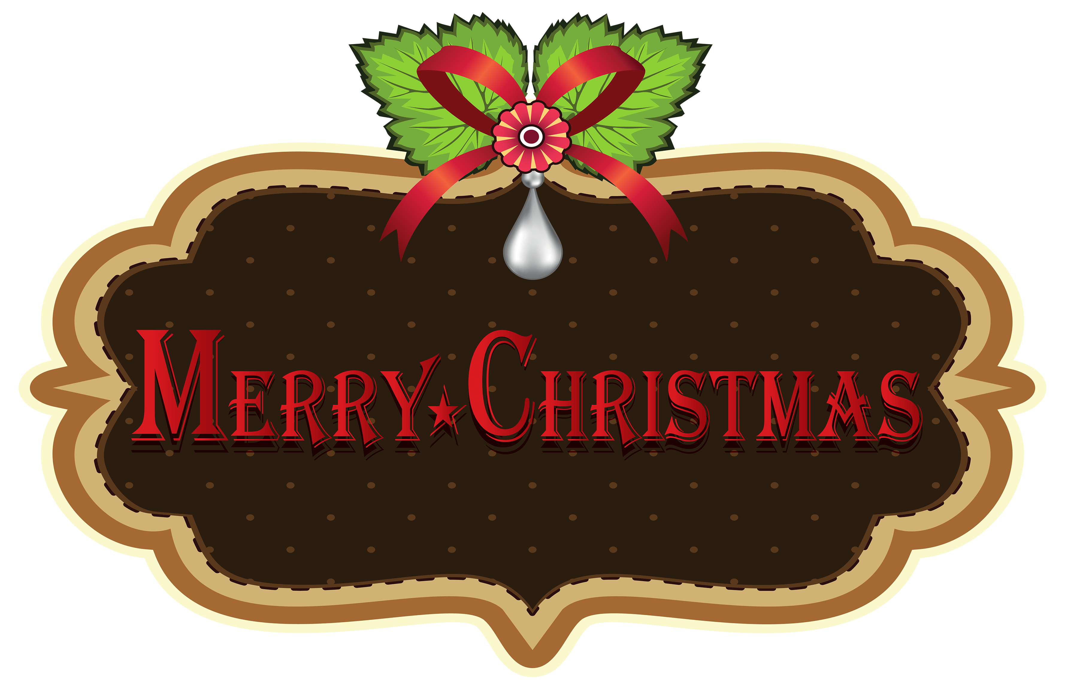 Merry christmas clipart images clip art transparent download Merry Christmas Label PNG Clipart - Best WEB Clipart clip art transparent download