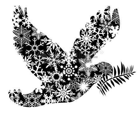 Christmas dove ribbon clipart svg royalty free Christmas Dove Images & Stock Pictures. Royalty Free Christmas ... svg royalty free