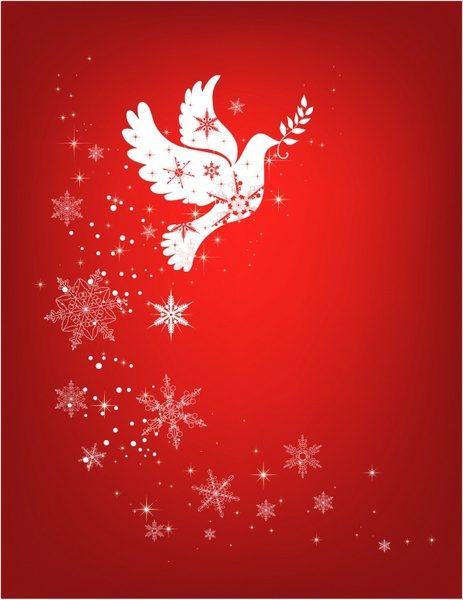 Christmas dove ribbon clipart vector royalty free download Dove free vector download (102 Free vector) for commercial use ... vector royalty free download