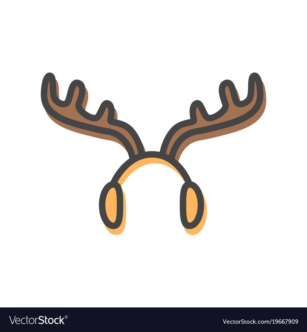 Christmas ear muffs clipart graphic library library Earmuffs in form of horns graphic library library