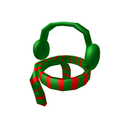 Christmas ear muffs clipart clip art royalty free library christmas scarf and ear muffs - Roblox clip art royalty free library