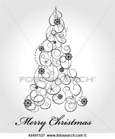 Christmas elegant clip art clip Fancy Christmas Clipart - Clipart Kid clip