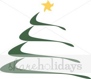 Christmas elegant clip art clip art black and white Elegant Christmas Tree | Christmas Tree Clipart clip art black and white