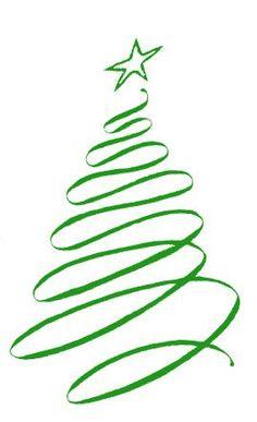Christmas elegant clip art graphic transparent library Elegant tree clipart free - ClipartFest graphic transparent library