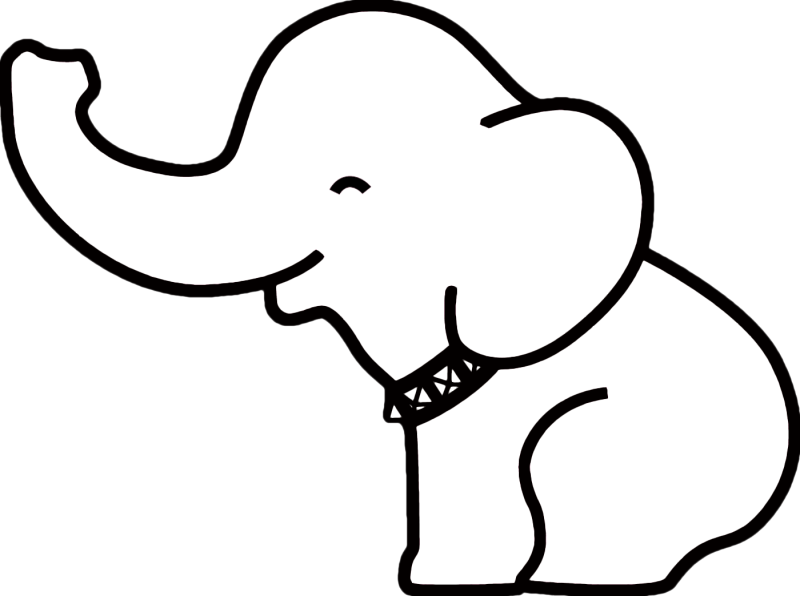 Christmas elephant clipart png transparent Thai Elephant Drawing at GetDrawings.com | Free for personal use ... png transparent
