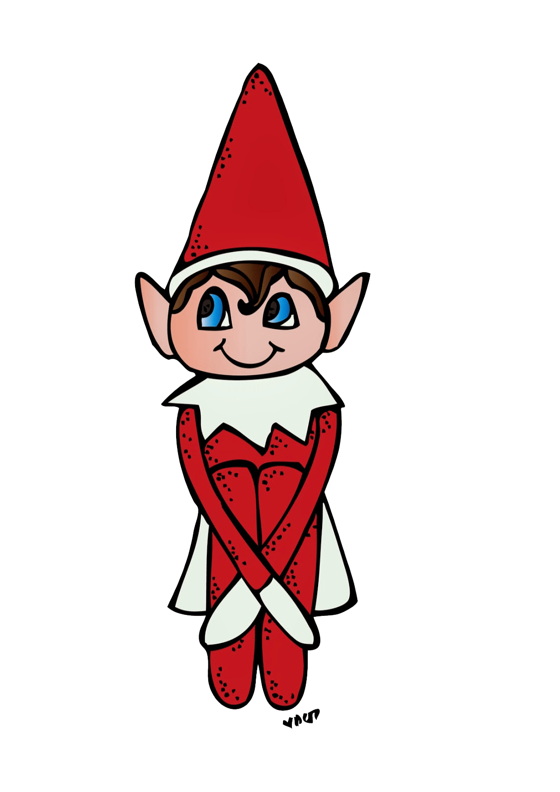 Library Of Christmas Elf Clipart Transparent Download
