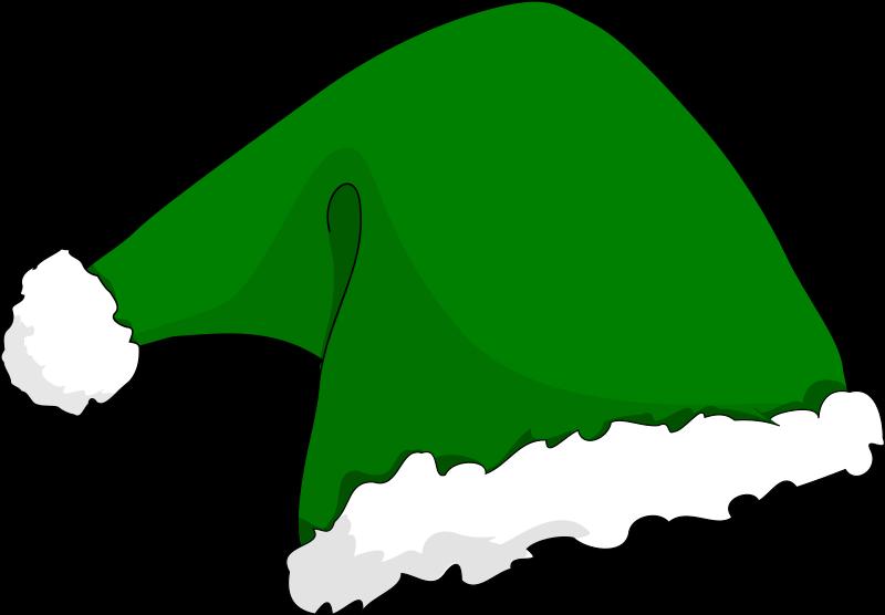 Christmas elf hat clipart clip transparent library Clipart - Elf hat clip transparent library