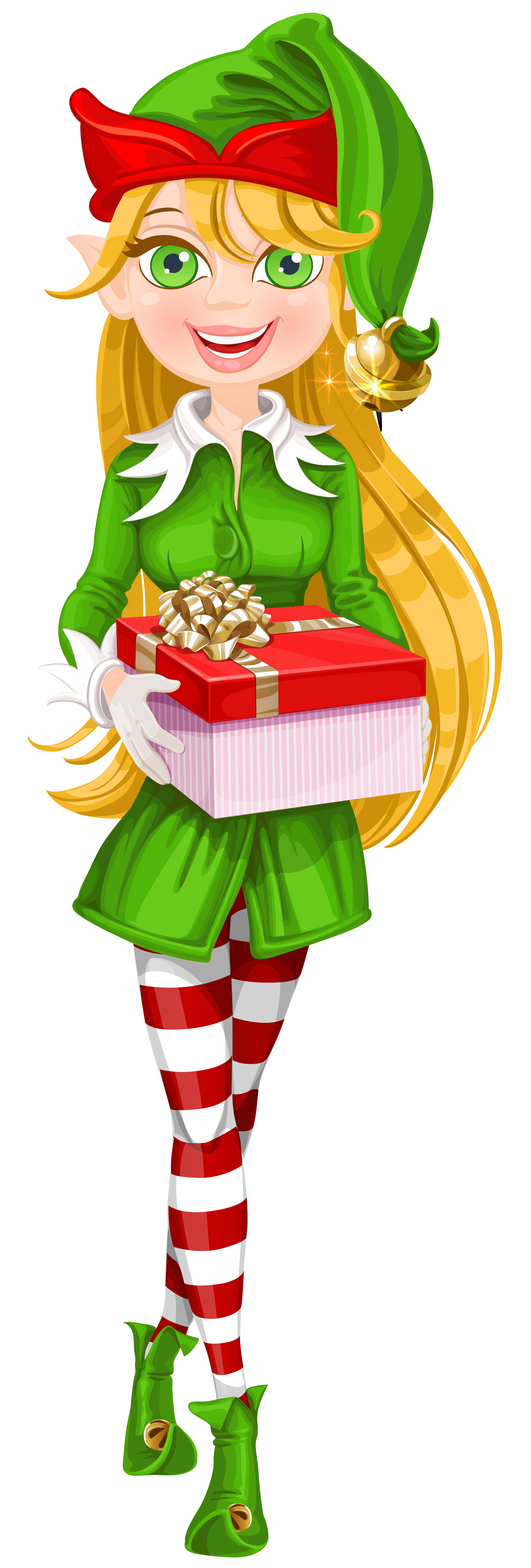 Cute christmas elf clipart png freeuse Christmas Elves Clipart Group (33+) png freeuse