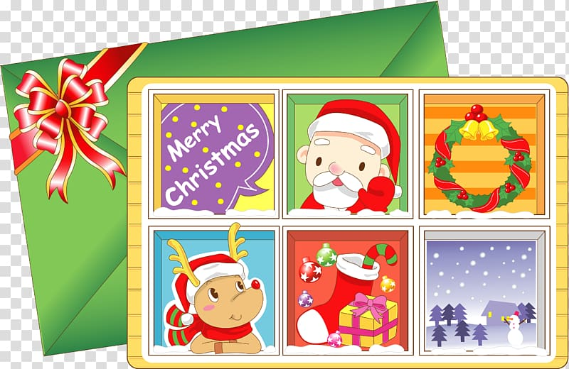 Christmas envelope clipart banner stock Santa Claus Christmas card Illustration, envelope transparent ... banner stock