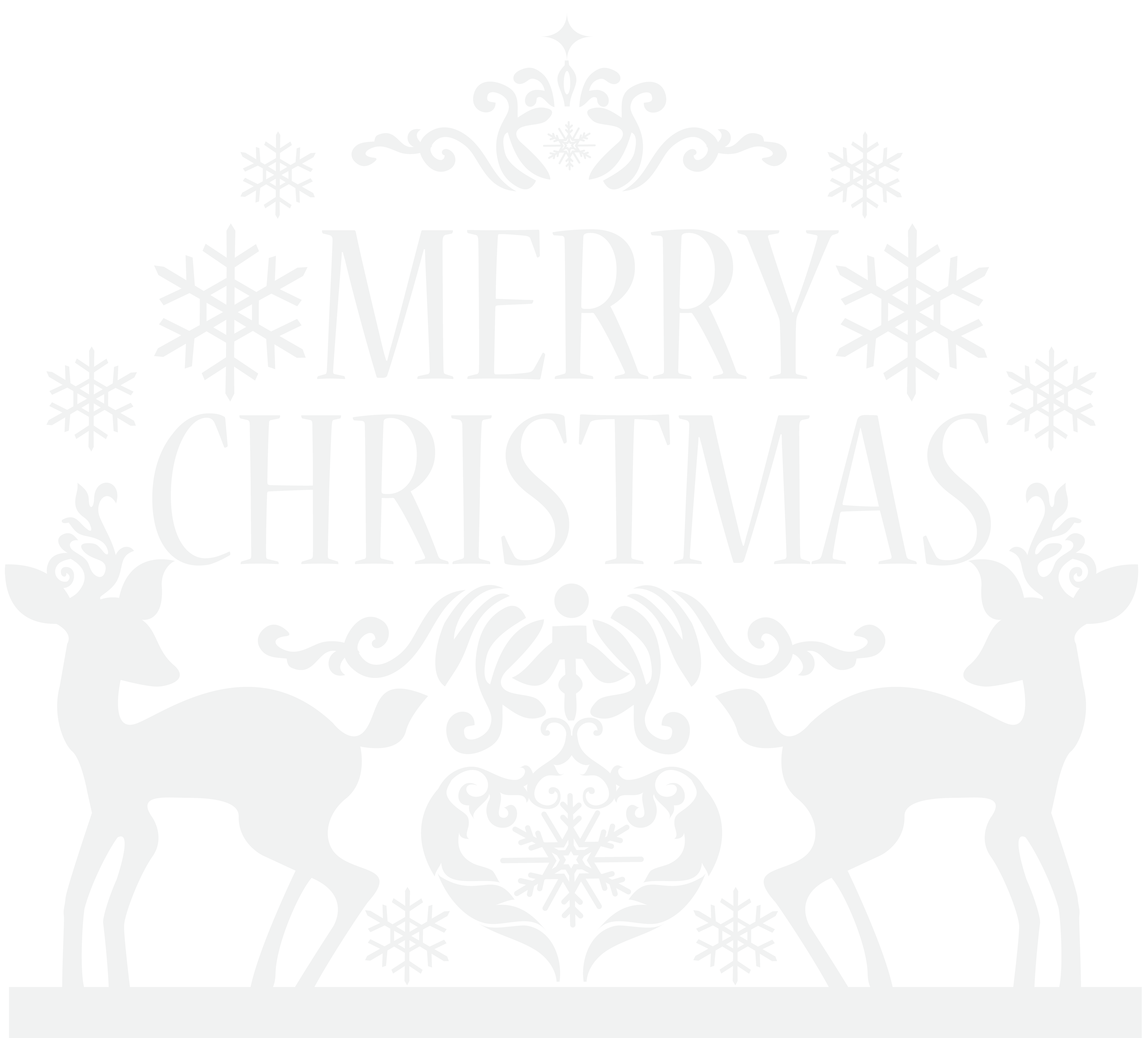 Christmas eve clipart black and white image download Merry Christmas Transparent PNG Clip Art Image | Gallery ... image download
