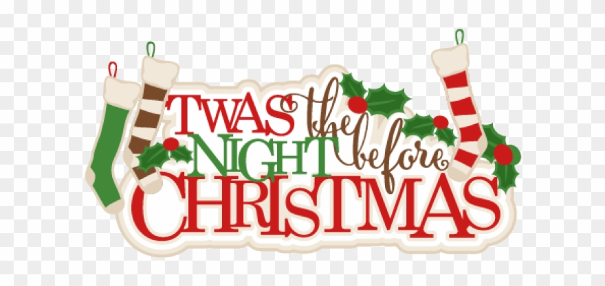 Christmas eve pictures clipart png free stock Night Clipart Christmas Eve - Twas The Night Before Christmas Clip ... png free stock