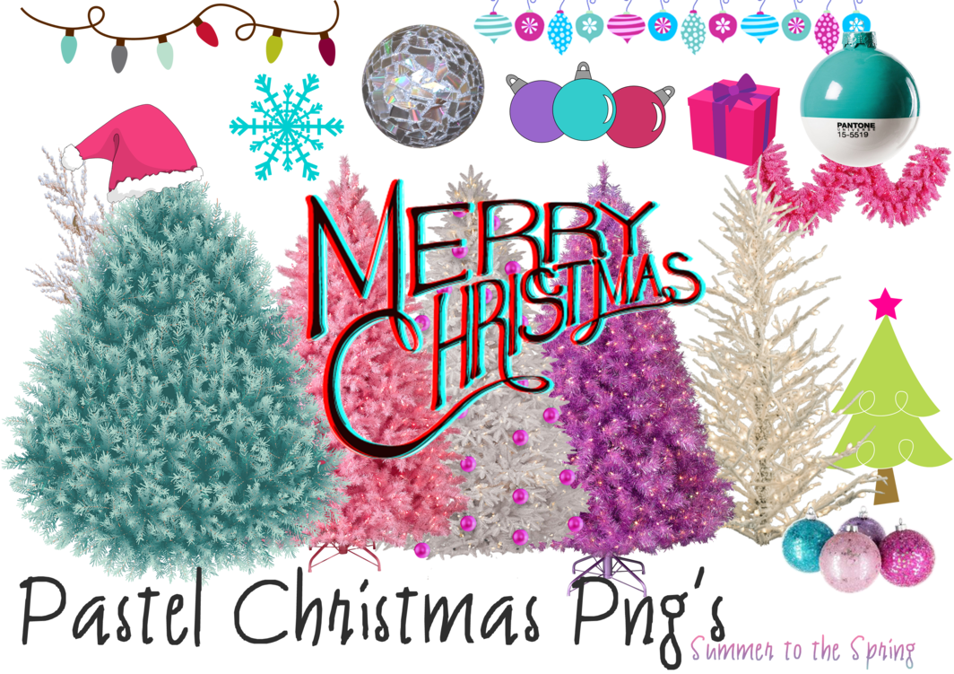 Christmas eve service clipart clip library download Pastel Christmas Png's by Summer-to-the-spring on DeviantArt clip library download