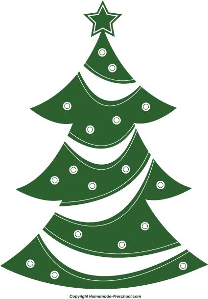Christmas farm clipart clipart black and white library Free Christmas Tree Clipart clipart black and white library