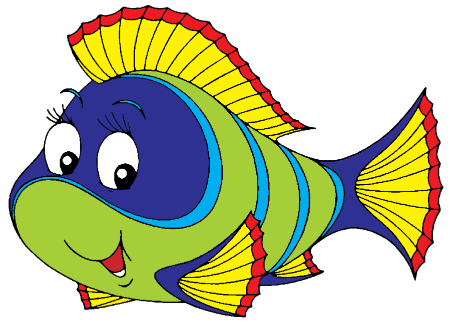 Christmas fish clipart free vector download Colorful fish clip art - crazywidow.info vector download