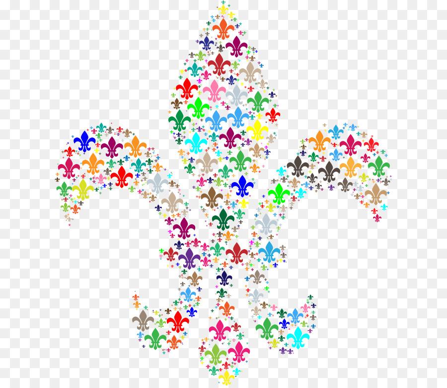 Christmas fleur de lis clipart clipart royalty free download Christmas Tree Line clipart - Leaf, transparent clip art clipart royalty free download