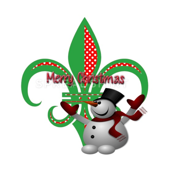 Christmas fleur de lis clipart vector transparent download Christmas Fleur De Lis iPhone Case flexible - white/black vector transparent download