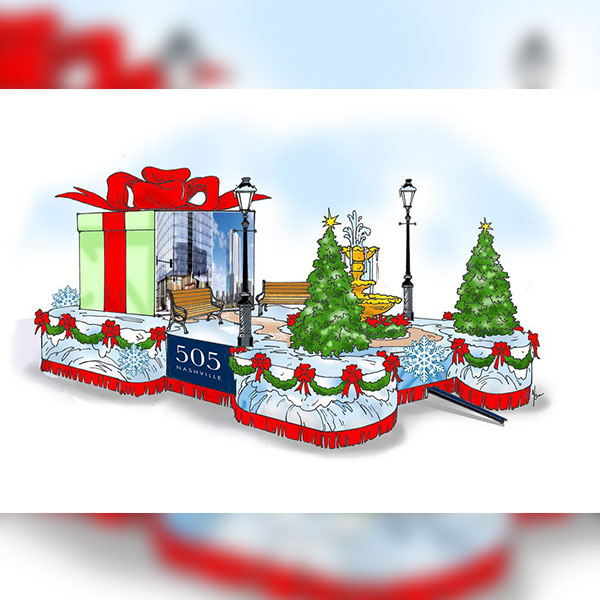 Christmas float clipart