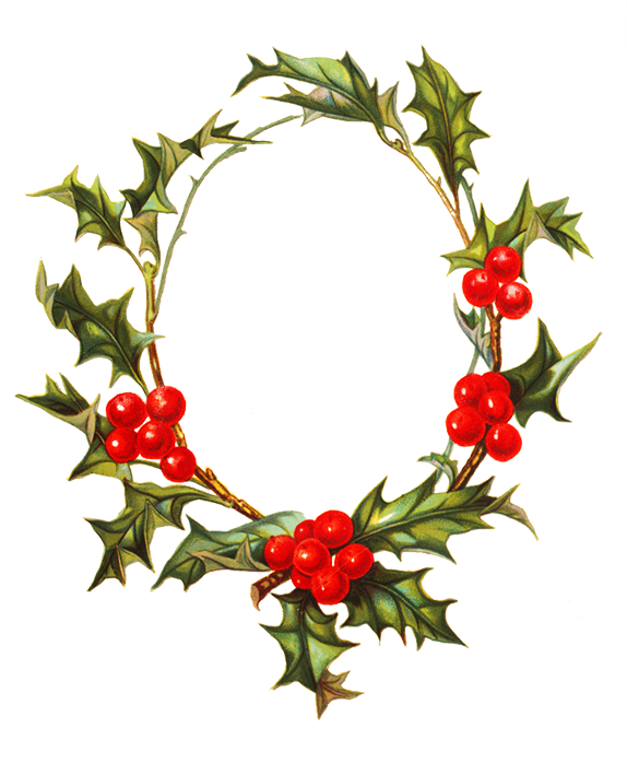Christmas flower clipart clip art free library Flower borders and frames clip art free library