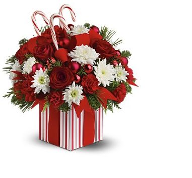 Christmas flower arrangement clipart png royalty free download Candy Christmas flowers arrangement pictures.JPG png royalty free download