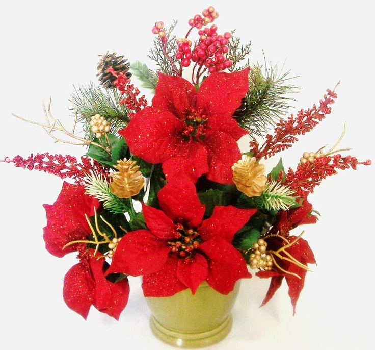 Christmas flower arrangement clipart clipart library download Inspirational Images Of Christmas Flower Arrangements | Top ... clipart library download