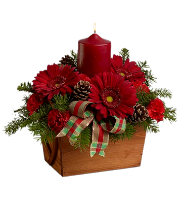 Christmas flower arrangement clipart image library library CHRISTMAS FLOWERS AND CANDLE CLIP ART | CLIP ART - CHRISTMAS 1 ... image library library