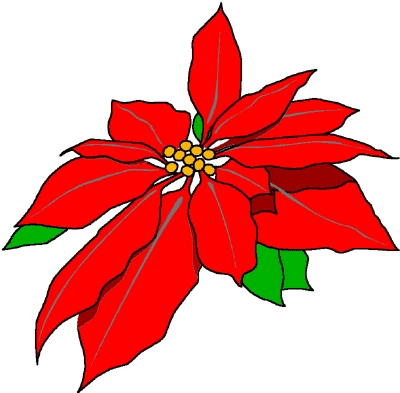 Christmas flowers free clipart graphic freeuse download Christmas Flowers Clipart - Addpic.net graphic freeuse download