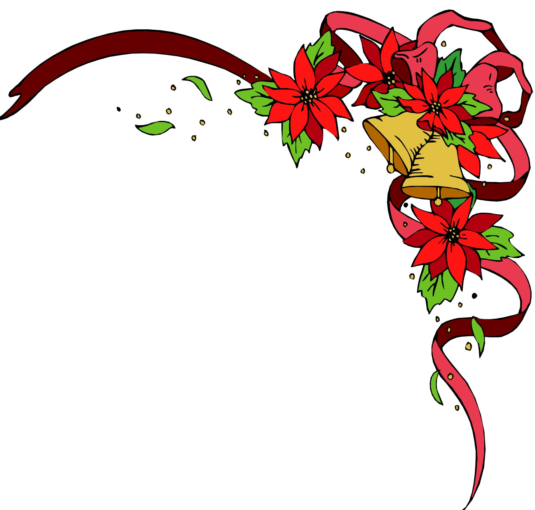 Christmas flowers free clipart free Free Clip Art Christmas Flowers - The Best Flowers Ideas free