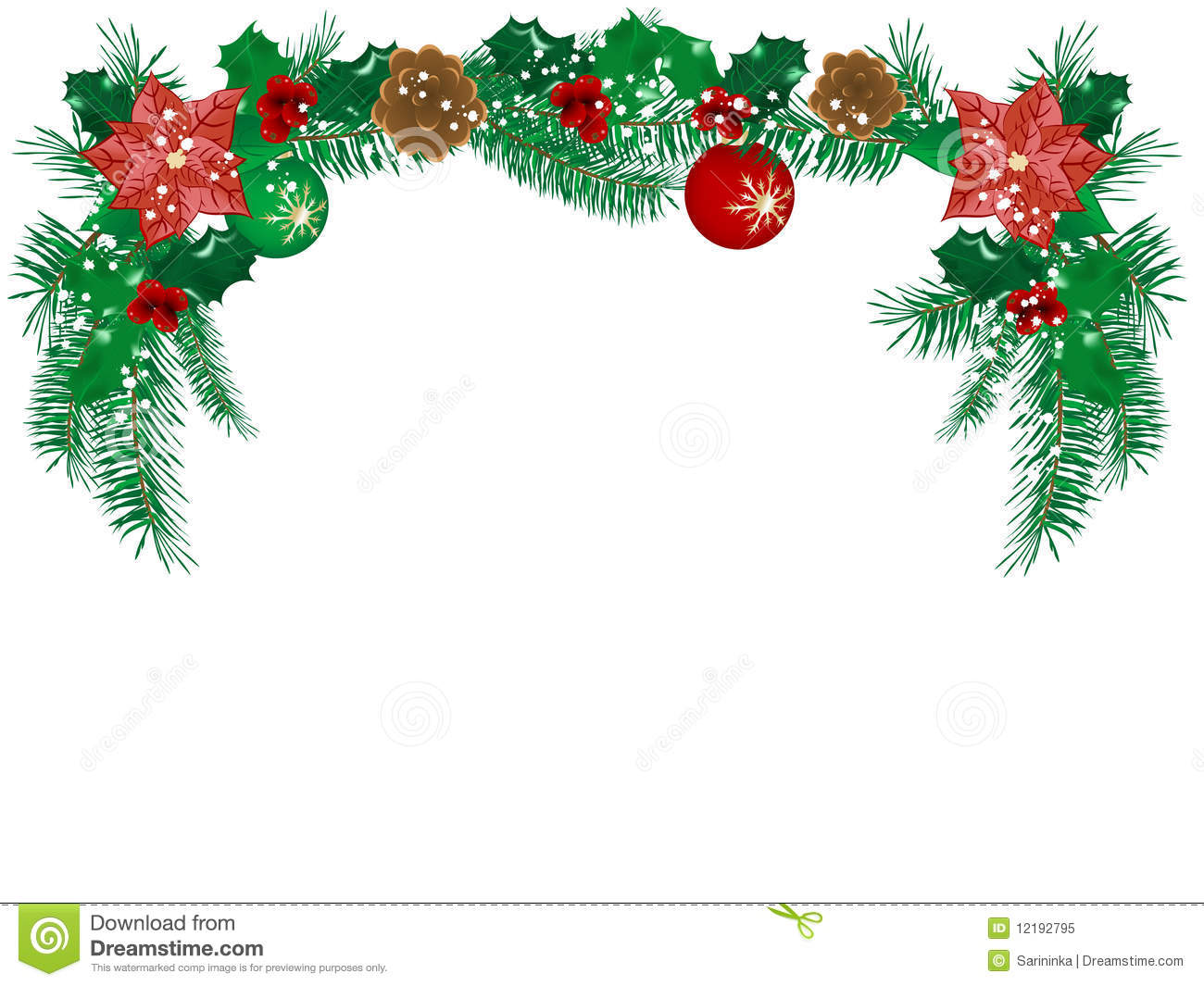 Christmas flowers free clipart image library download Free clipart christmas flowers - ClipartFest image library download