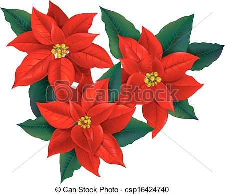 Christmas flowers free clipart clipart royalty free library Free clipart christmas flowers - ClipartFest clipart royalty free library