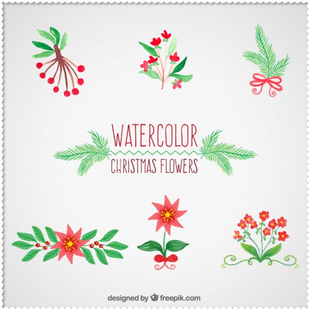 Christmas flowers pictures free jpg black and white download Free christmas flowers download - ClipartFest jpg black and white download