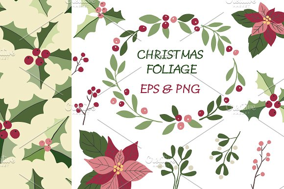 Christmas foliage clipart image royalty free Christmas foliage clipart image royalty free