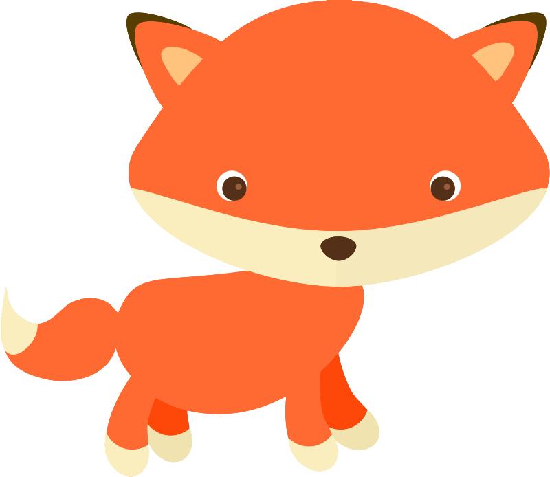 Christmas fox clipart svg transparent stock Cute fox free clipart | vectores, png, cliparts... | Pinterest ... svg transparent stock