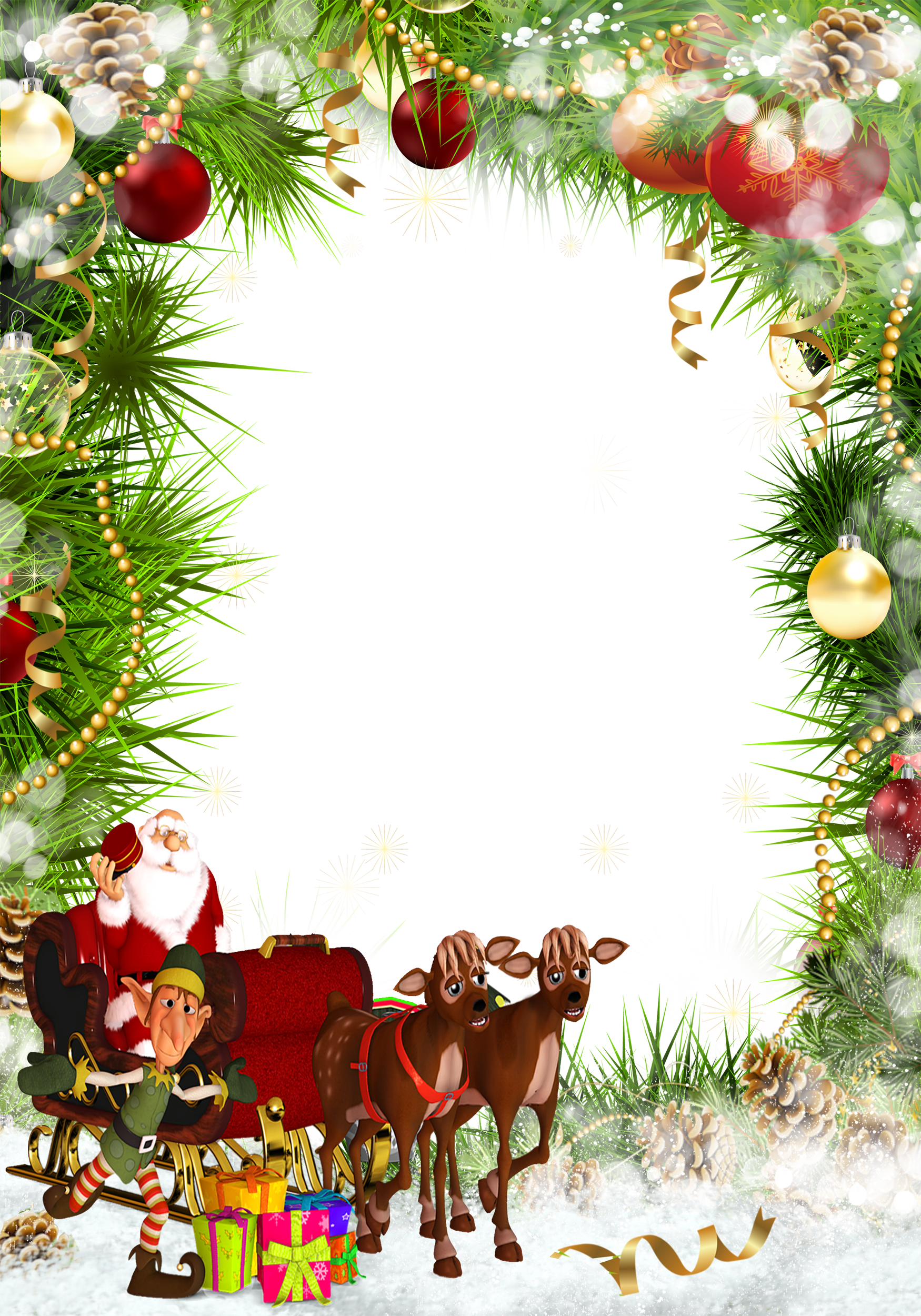 Christmas frame clipart svg royalty free Christmas frames clipart free dowload svg royalty free