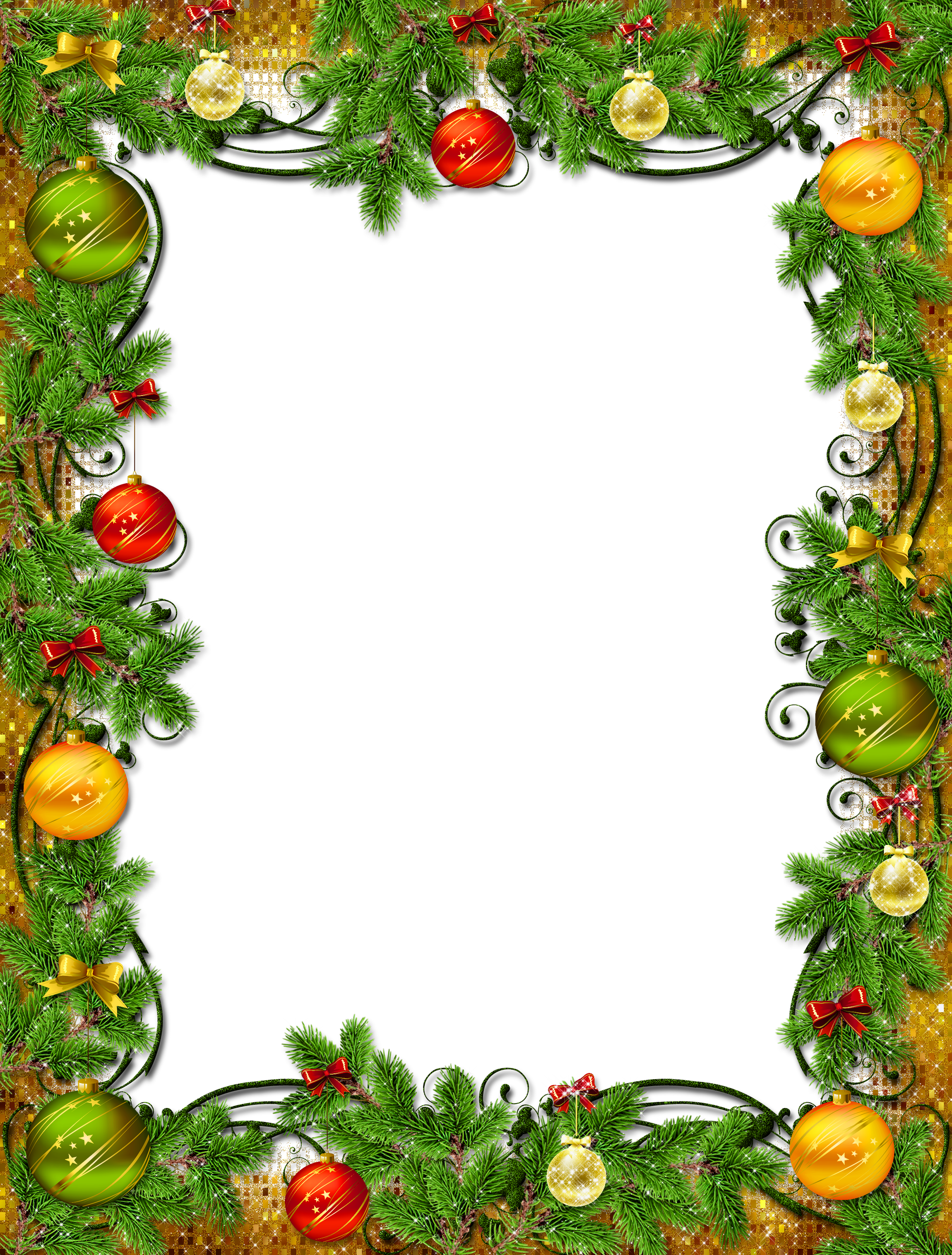 Christmas frames clipart clipart library library Beautiful PNG Christmas Photo Frame | Gallery Yopriceville - High ... clipart library library