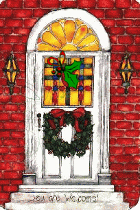 Christmas front door clipart picture library library Christmas Door Clipart - Clip Art Library picture library library