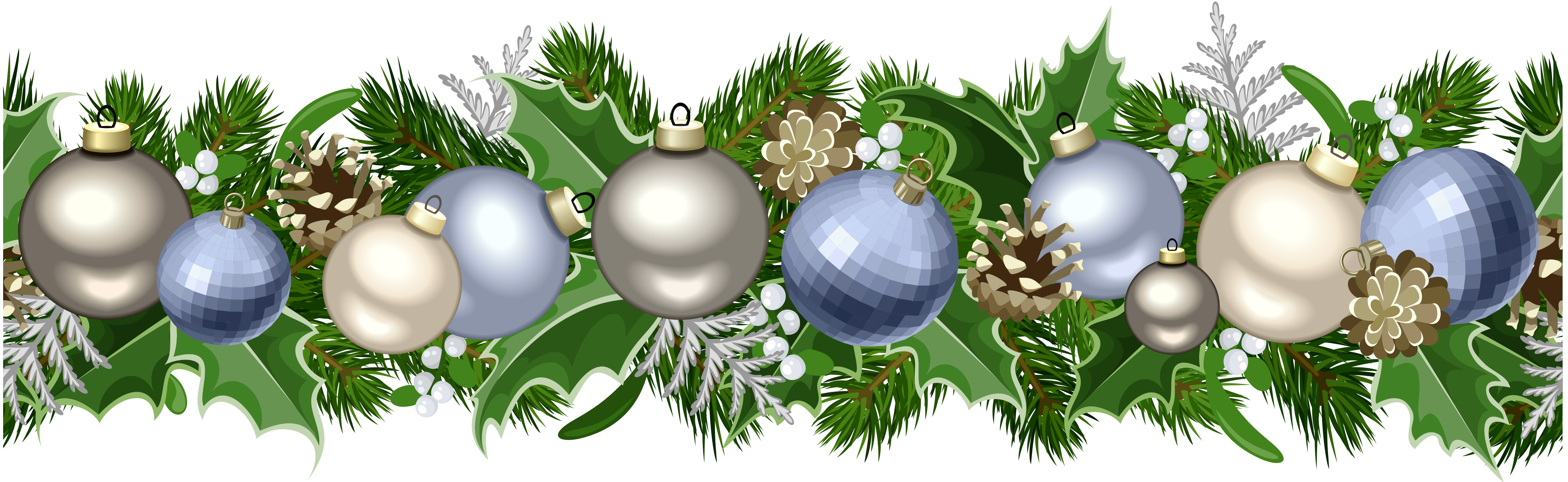 Free clipart christmas garland svg freeuse stock Christmas Deco Garland PNG Picture | Gallery Yopriceville - High ... svg freeuse stock