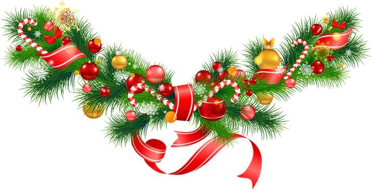 Christmas garland photo clipart svg black and white download Christmas garland clipart » Clipart Portal svg black and white download