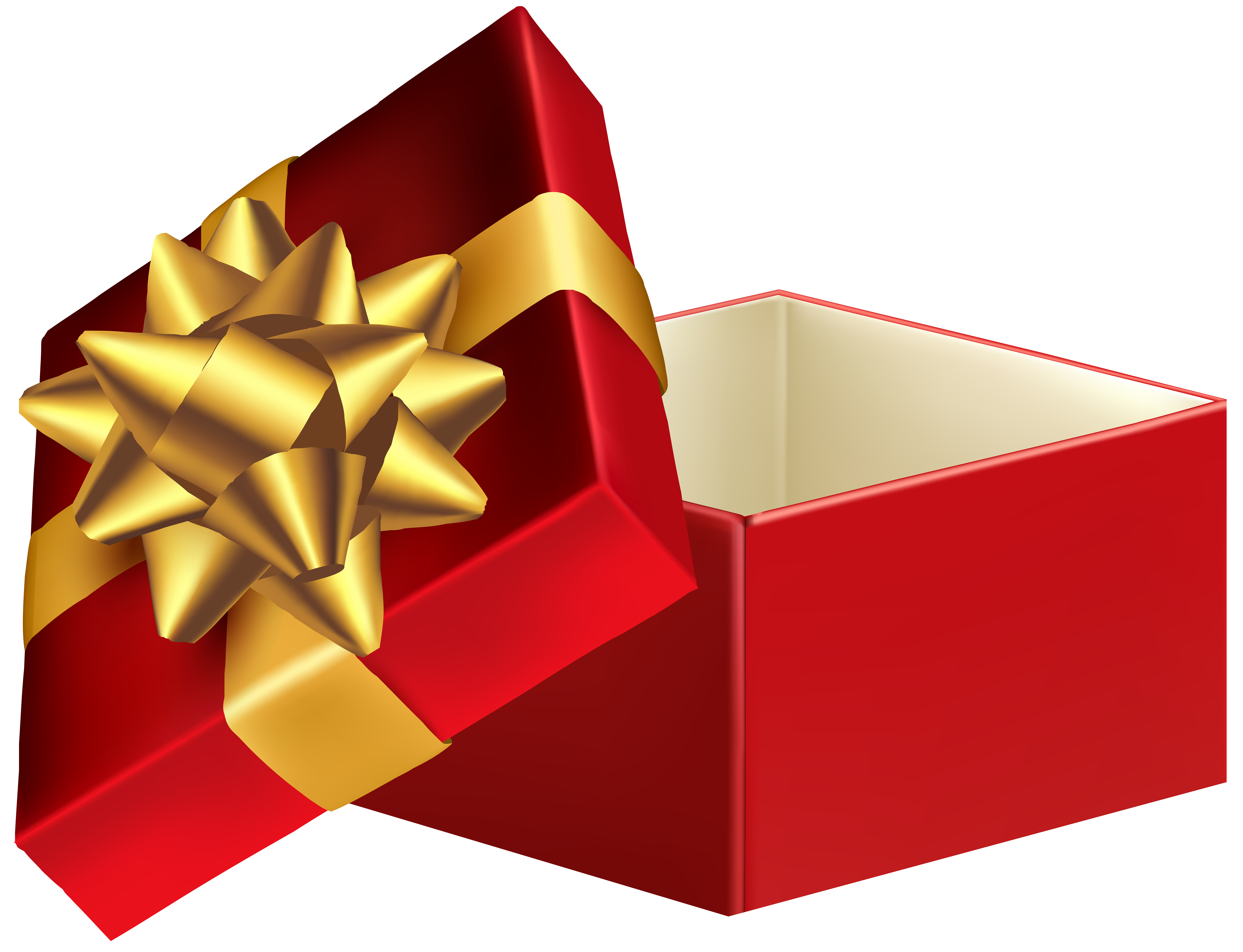 Christmas gift box clipart svg royalty free Gift Box Christmas Day Clip art - Red Open Gift Box PNG Clip Art ... svg royalty free