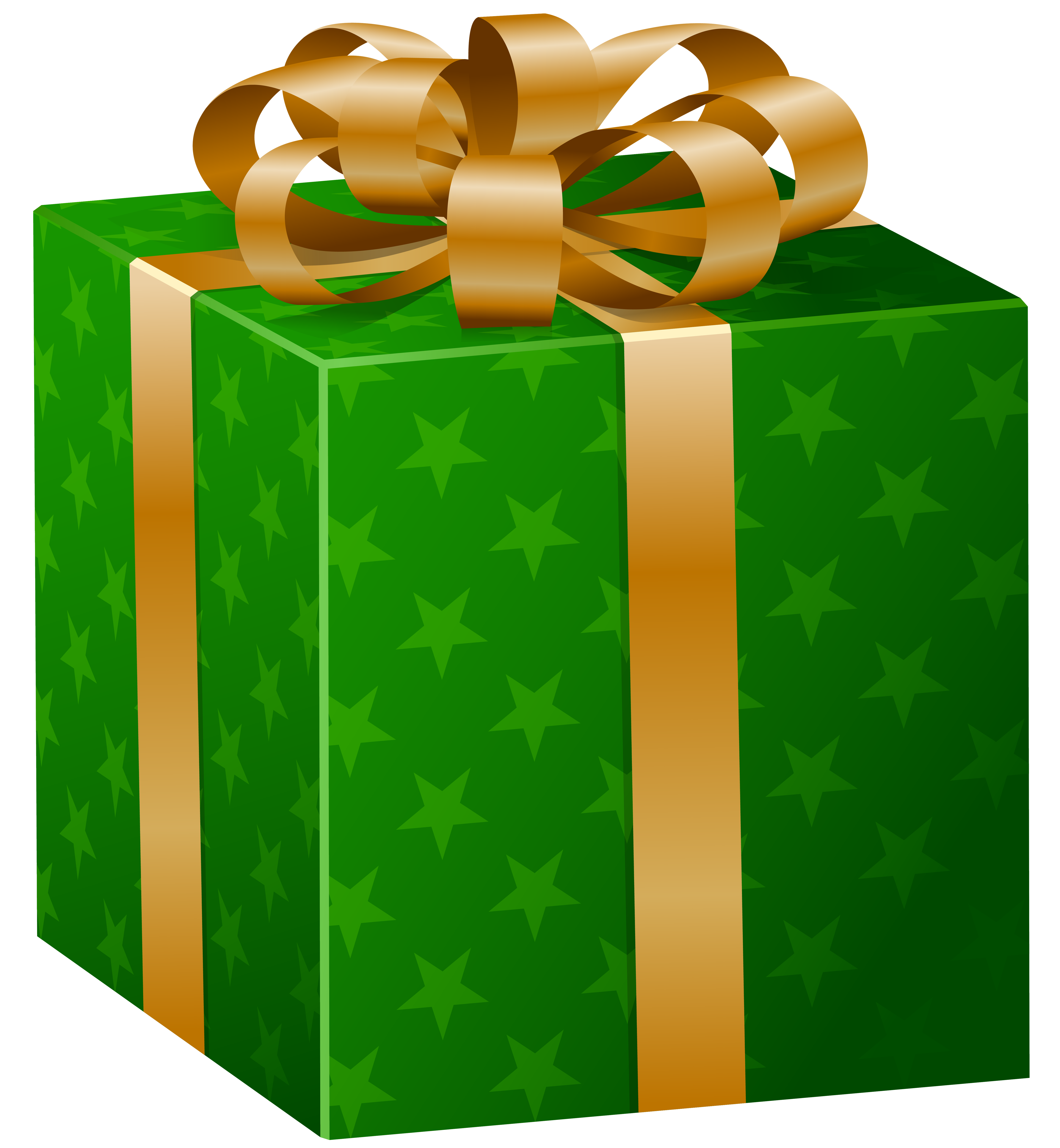 Christmas gift box clipart vector royalty free stock Green Gift Box PNG Clip Art Image | Gallery Yopriceville - High ... vector royalty free stock