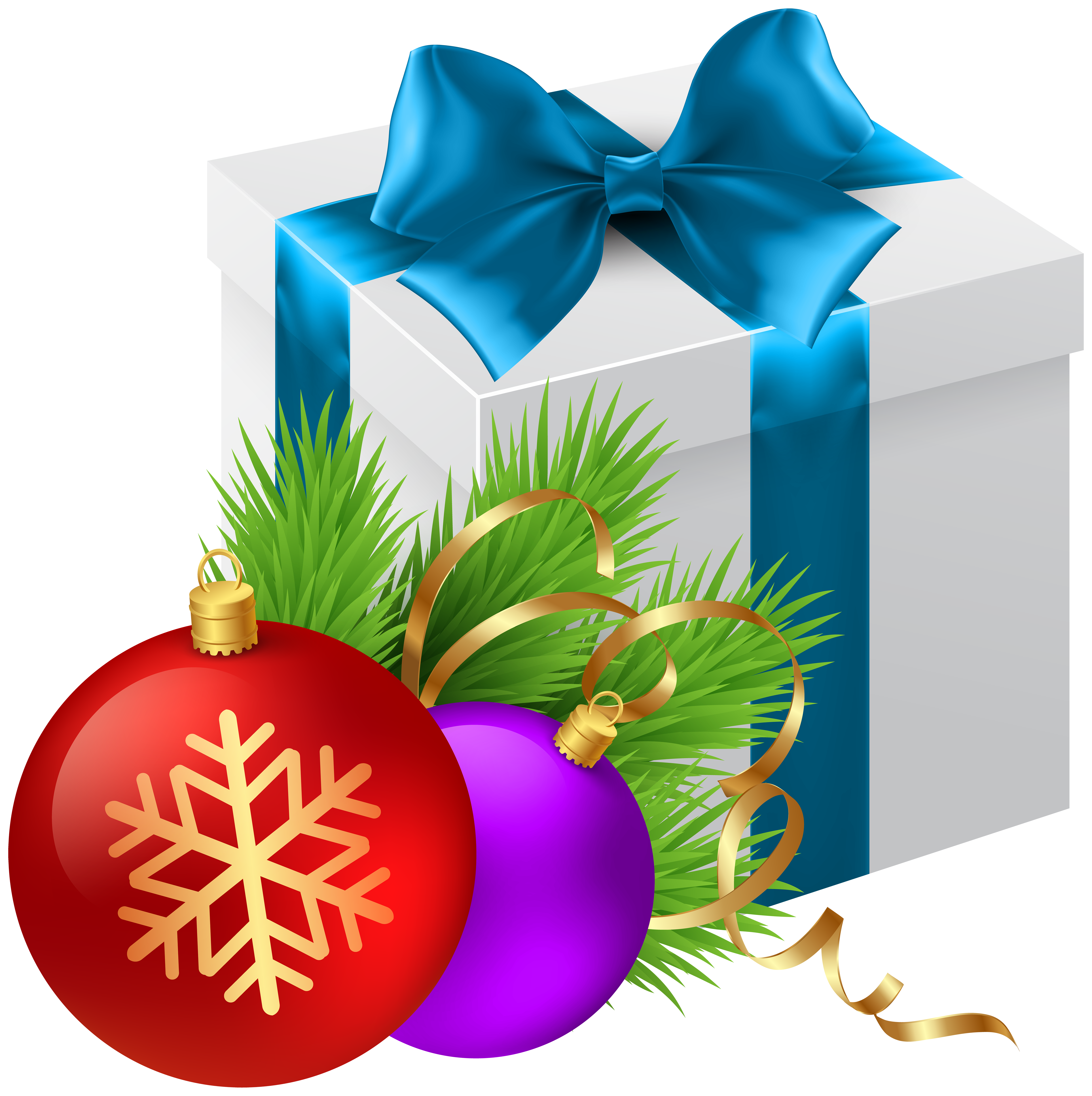 Clipart christmas present clip free Christmas Gift Transparent PNG Clip Art Image | Gallery ... clip free
