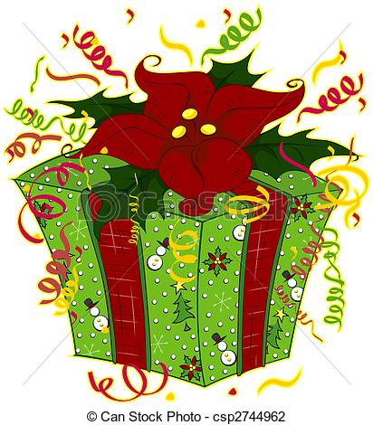 Clipartfest. Christmas gift clipart graphics