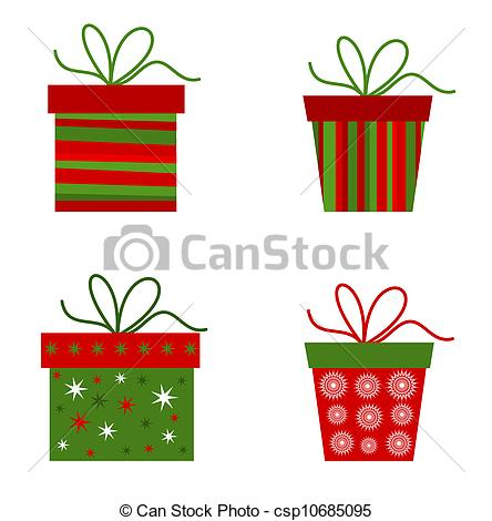 Christmas gift clipart graphics. Clipartfest presents