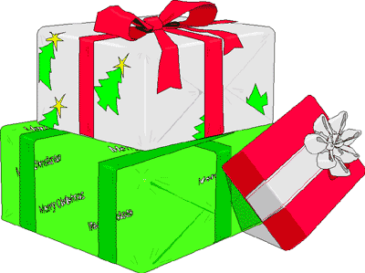 Gifts images free download. Christmas gift clipart graphics